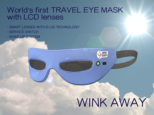 travel & sleep eye mask